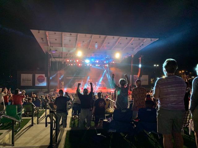 The Devon Amphitheater:  I'm Impressed